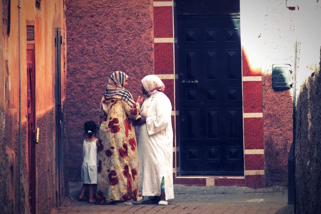 モロッコ メディナ 路地