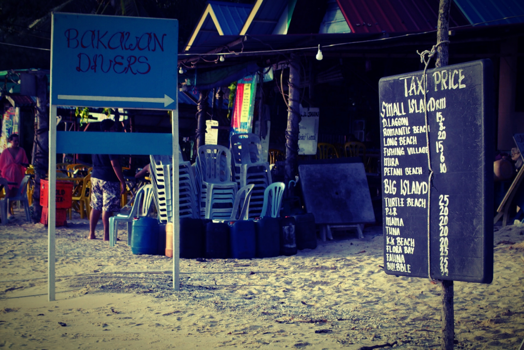perhentian, boat taxi
