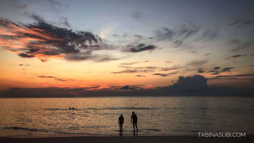 夕陽|夕焼け|ランカウイ