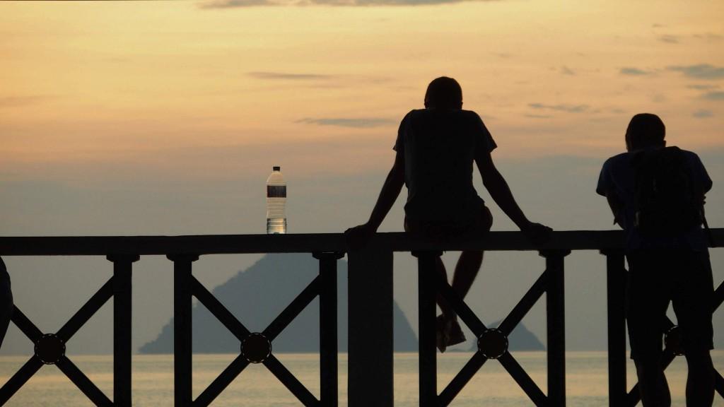 夕陽|夕焼け|ティオマン|Tioman