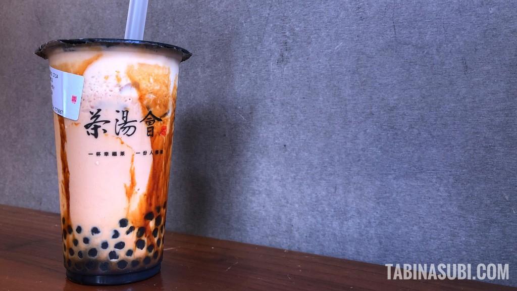 香港|黒糖ミルクティー