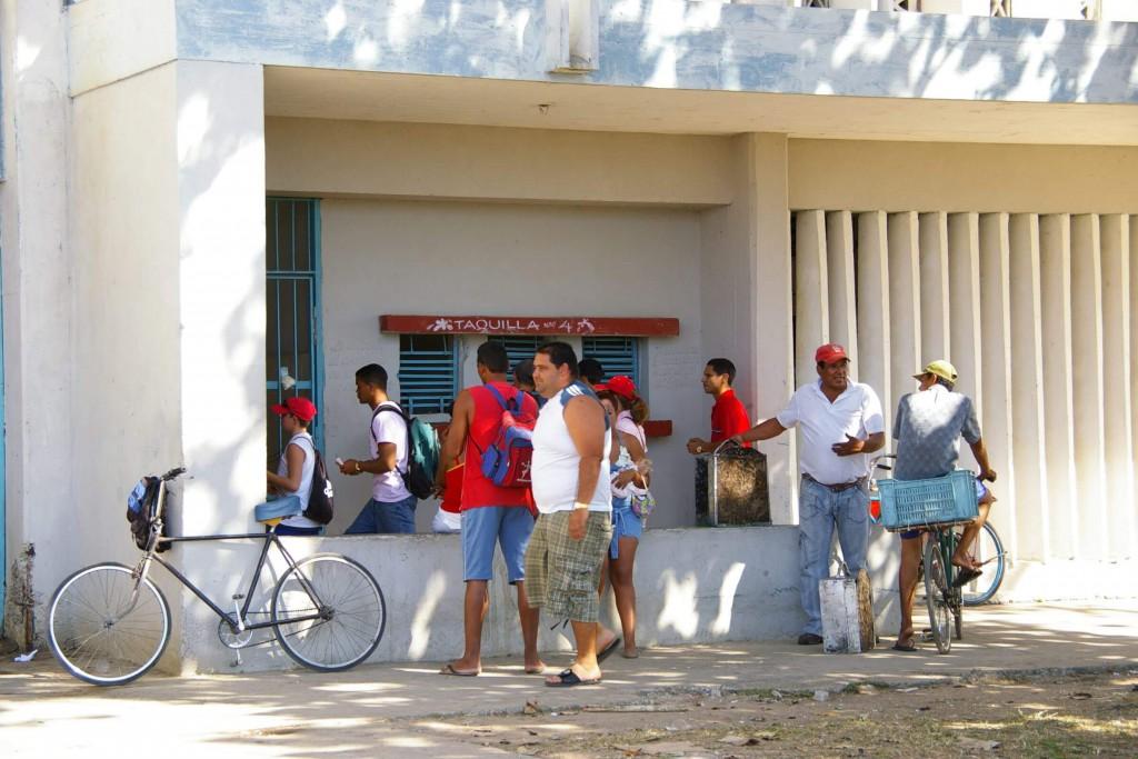 キューバ|野球場|チケット売り場