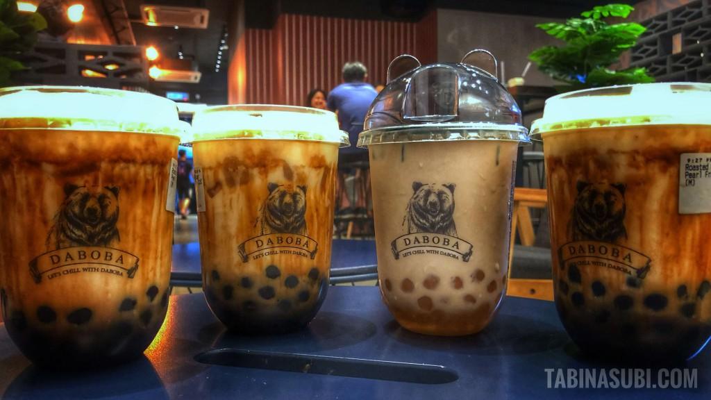 黒糖タピオカ|クアラルンプール|マレーシア|Daboba