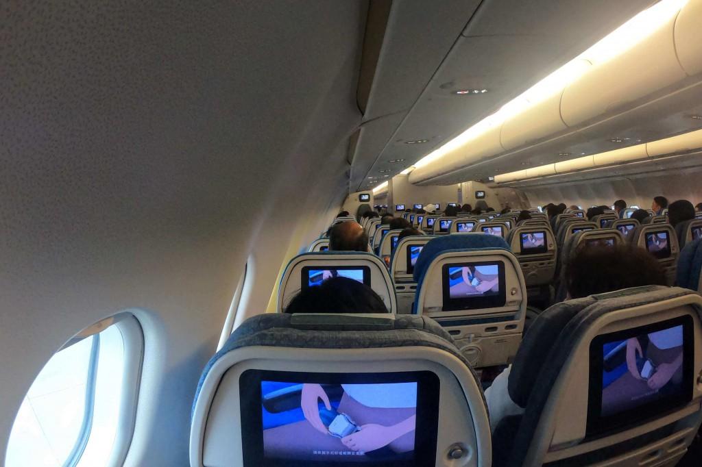キャセイドラゴン航空|座席