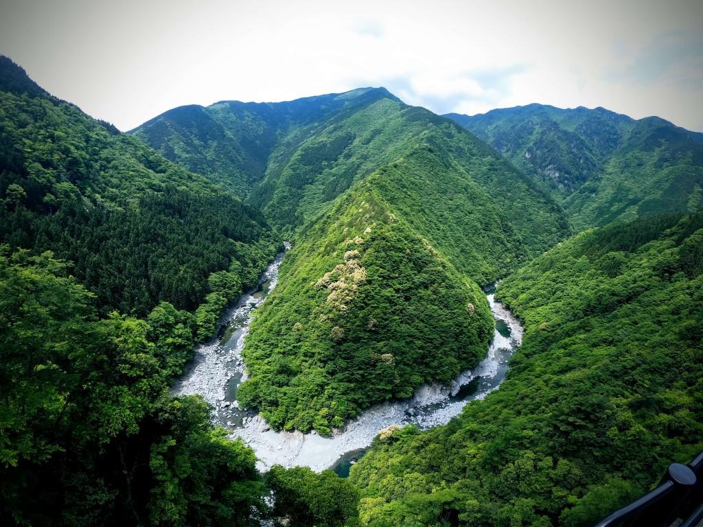 ひの字渓谷|祖谷温泉|徳島